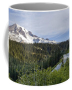 Rainier Journey Coffee Mug by Mike Reid