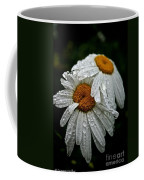 Rainy Day Daisies Coffee Mug