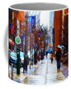 Rainy Day Feeling Coffee Mug by Bill Cannon
