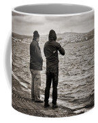 Rainy Day Fishing Coffee Mug