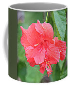 Rainy Day Hibiscus Coffee Mug