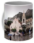 Rainy Day In Taormina Coffee Mug