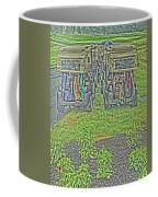 Rainy Day On The Links Coffee Mug