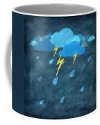 Rainy Day With Storm And Thunder Coffee Mug