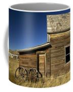 Ranchers House In Prairie Semi-ghost Coffee Mug by Pete Ryan