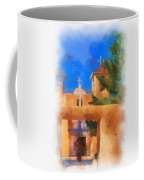 Ranchos Church Gate - Aquarell Coffee Mug