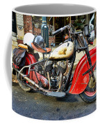 Rare Indian Motorcycle Coffee Mug