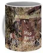 Rattlesnake Warning Coffee Mug
