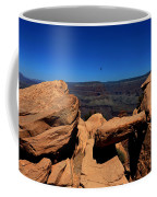 Raven Flying Near Ooh Aah Point Coffee Mug