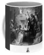 Reading Emancipation Proclamation Coffee Mug