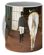 Ready For The Dressage Lesson Coffee Mug
