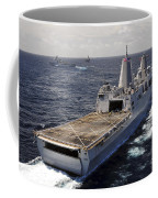 Rear View Of Uss Green Bay Coffee Mug