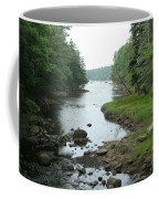 Receding Tide In Maine Part Of A Series Coffee Mug
