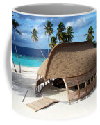 Reception Dhoni. Maldives Coffee Mug