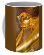 Reclining Buddha At Wat Pho, Low Angle Coffee Mug