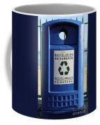 Recycling Bin Coffee Mug by Photo Researchers, Inc.