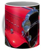 Red 1932 Oldsmobile Coffee Mug