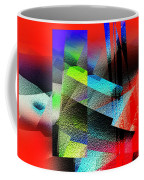 Red Abstract 1 Coffee Mug by Anil Nene