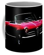 Red Alfa Romeo 1600 Giulia Spider Coffee Mug