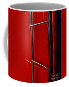 Red And Black Train Ladder Coffee Mug