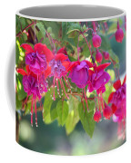 Red And Purple Fuchsias Coffee Mug