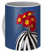 Red And Yellow Primrose Coffee Mug