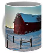 Red Barn In Winter ... Coffee Mug