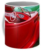Red Beautiful Car Coffee Mug