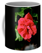 Red Begonia Coffee Mug