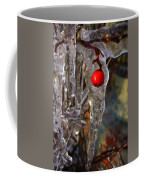 Red Berry In Icicle Coffee Mug