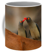 Red-billed Oxpeckers Coffee Mug