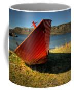 Red Boat Coffee Mug