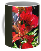 Red Bougainvillea Coffee Mug