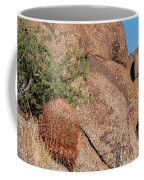 Red Cactus Rock Coffee Mug