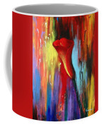 Red Calla Lily Coffee Mug