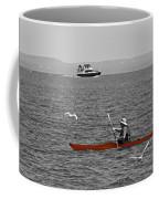 Red Canoe Coffee Mug