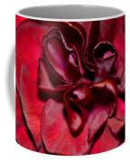 Red Carnation With Heart Coffee Mug