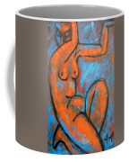 Red Caryatid - Nudes Gallery Coffee Mug