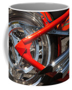 Red Chopper Detail Coffee Mug