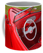 Red Classic Car Coffee Mug