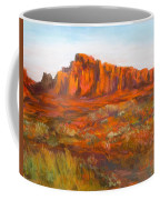 Red Cliffs Coffee Mug by Jack Skinner