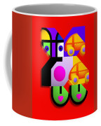 Red Collage Coffee Mug