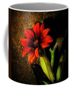 Red Coneflower Coffee Mug