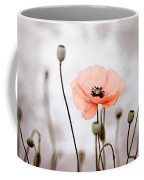 Red Corn Poppy Flowers 01 Coffee Mug