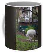 Red Crowned Crane Coffee Mug