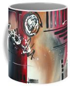 Red Divinity By Madart Coffee Mug