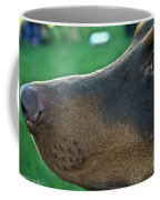 Red Doberman Champion  Coffee Mug