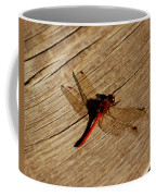 Red Dragon Fly Coffee Mug by LeeAnn McLaneGoetz McLaneGoetzStudioLLCcom