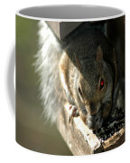 Red Eyed Demon Squirrel Coffee Mug