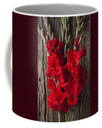 Red Gladiolus Coffee Mug